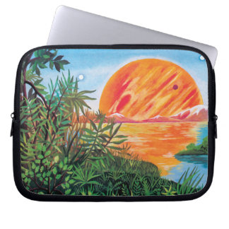 Landscape on Europa Laptop Computer Sleeves