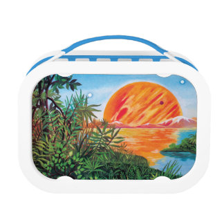 Landscape on Europa Lunch Boxes