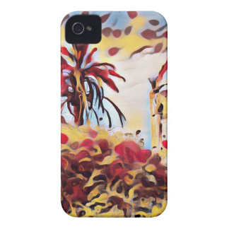 LANDSCAPE PAINTING SOUTH SPAIN iPhone 4 CASE