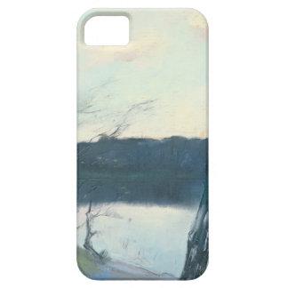 Landscape (pastel on canvas) iPhone 5 cases