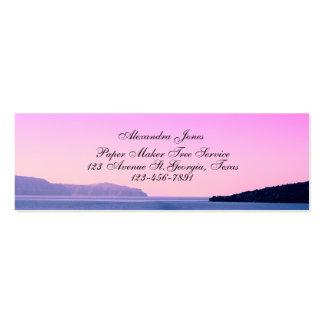 Landscape photo business card