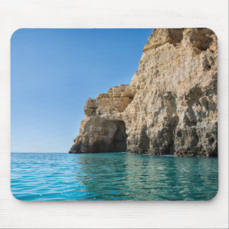 Landscape photo of the Algarve coast Portugal Mouse Pad