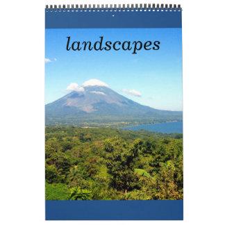 landscape photography wall calendar
