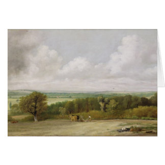 Landscape: Ploughing Scene in Suffolk (A Summerlan Card