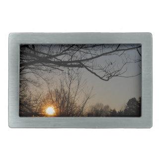 landscape rectangular belt buckle