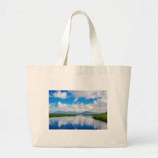 Landscape River 04 Digital Art - Bag