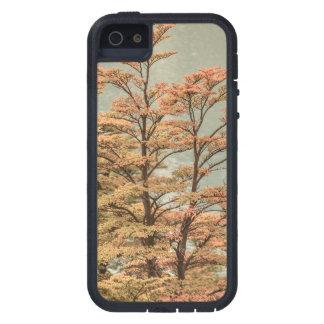 Landscape Scene Colored Trees at Glacier Lake iPhone 5 Covers