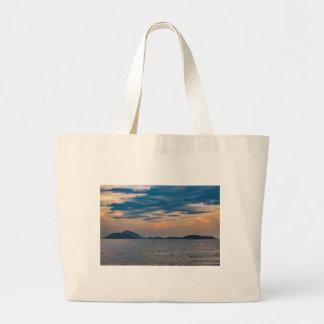 Landscape Scene from Ipanema Beach Rio de Janeiro Large Tote Bag
