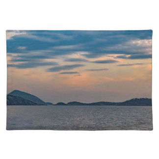 Landscape Scene from Ipanema Beach Rio de Janeiro Placemat