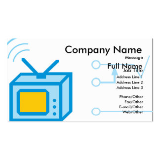 Landscape Seascape Card Business Card Template