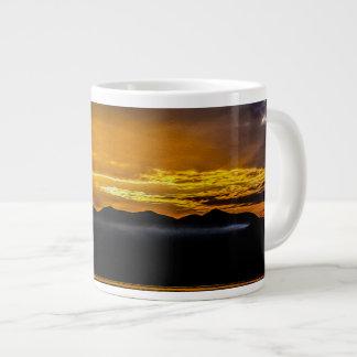 Landscape Sunrise 08 Digital Art - Mug