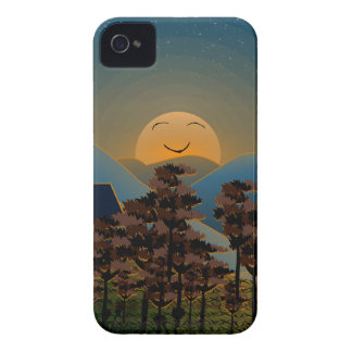 Landscape sunset iPhone 4 Case-Mate cases