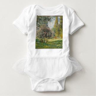 Landscape- The Parc Monceau - Claude Monet Baby Bodysuit