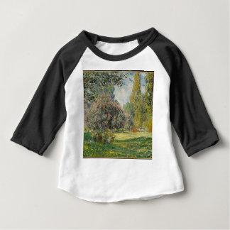 Landscape- The Parc Monceau - Claude Monet Baby T-Shirt