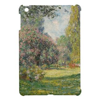 Landscape- The Parc Monceau - Claude Monet Case For The iPad Mini