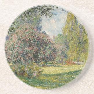 Landscape- The Parc Monceau - Claude Monet Coaster