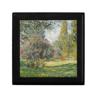 Landscape- The Parc Monceau - Claude Monet Gift Box