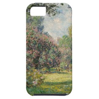 Landscape- The Parc Monceau - Claude Monet iPhone 5 Case