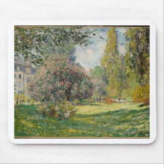 Landscape- The Parc Monceau - Claude Monet Mouse Pad