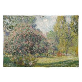 Landscape- The Parc Monceau - Claude Monet Placemats