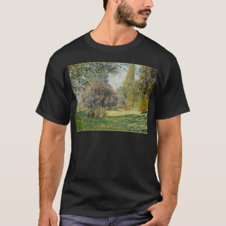 Landscape- The Parc Monceau - Claude Monet T-Shirt