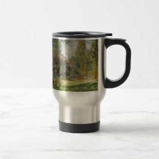 Landscape- The Parc Monceau - Claude Monet Travel Mug