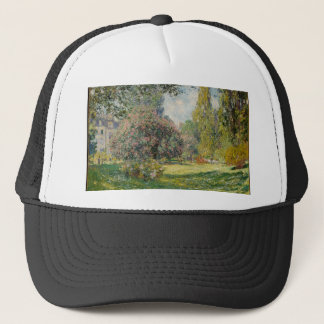Landscape- The Parc Monceau - Claude Monet Trucker Hat