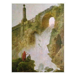 Landscape, The Waterfall Postcard