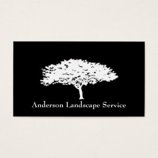 Landscape Tree Removal Black Card