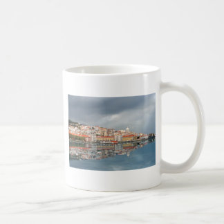 Landscape view of buildings in Lisbon, Portugal Mug