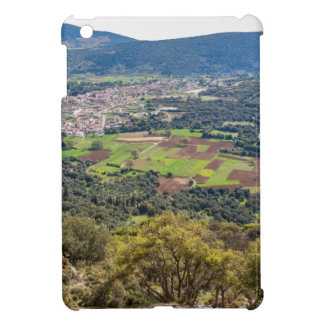 Landscape village with houses in valley of Greece iPad Mini Case