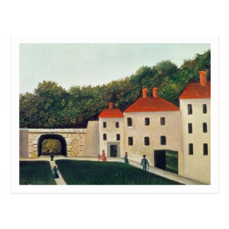 Landscape with an Arch and Three Houses, 1907 (oil Postcard