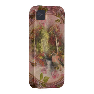 landscape with bird iPhone 4 covers
