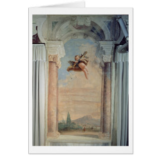 Landscape with Cupid, from the 'Foresteria' (Guest Card