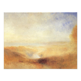 Landscape With Distant River And Bay by JMW Turner Personalized Announcements