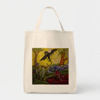 Landscape with Dragon by Genevieve & John Tote Bag