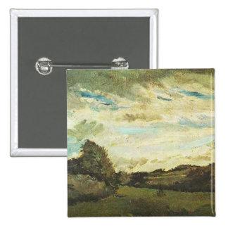 Landscape with Dunes Vincent van Gogh Pinback Button