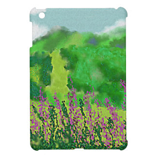 Landscape with Flowers Art Cover For The iPad Mini