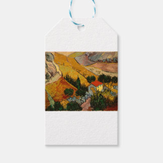Landscape with House & Ploughman, Vincent Van Gogh