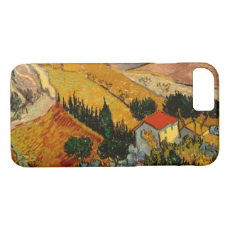 Landscape with House & Ploughman, Vincent Van Gogh iPhone 8/7 Case