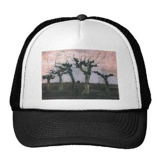 Landscape with Pollard Willows Trucker Hats