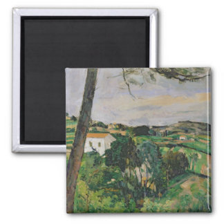 Landscape with red roof or The pine at the Magnet