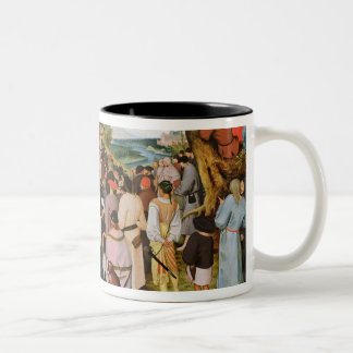 Landscape with St. John the Baptist Preaching Two-Tone Coffee Mug