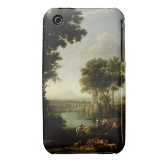 Landscape with the Finding of Moses Case-Mate iPhone 3 Cases