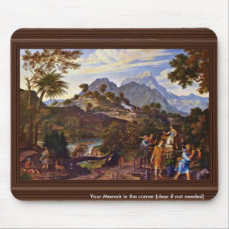 Landscape With The Scouts From The Promised Land B Mouse Pad