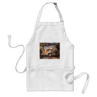 Landscape with the view of Sacre Coeur by Renoir Apron