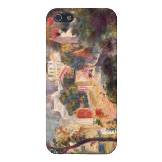 Landscape with the view of Sacre Coeur by Renoir iPhone 5 Case