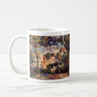 Landscape with the view of Sacre Coeur by Renoir Coffee Mug