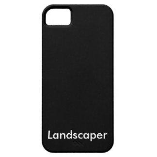 Landscaper iPhone 5 Cover