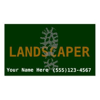Landscaper Landscaping promote business Pack Of Standard Business Cards